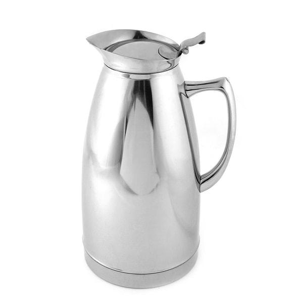 Unique Bargains 2L Home Office Stainless Steel Heat Preservation Water Pot Bottle Kettle