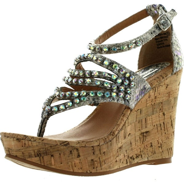 Not Rated Womens Twin Lakes Fashion Wedge Sandals - 8.5 b(m) us