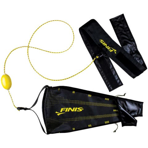 FINIS Drag+Fly Resistance Training Adjustable Swim Chute - One Size
