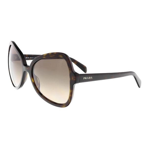 a99611c5778a4 Shop Prada PR 05SS 2AU3D0 Tortoise Butterfly Sunglasses - 56-19-135 ...