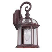"Sunset Lighting F7949 1 Light 15.5"" Height Outdoor Wall Sconce"