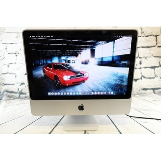 "Apple iMac MA877LLA 24"" Intel Core 2 Duo 2.4GHz 1GB 320GB- WHITE"
