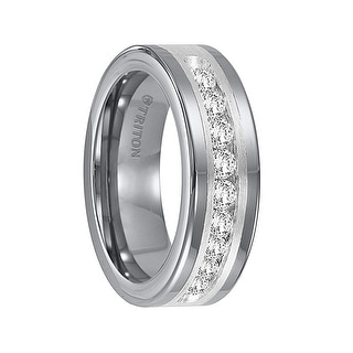 Tungsten Wedding Rings For Less Overstockcom