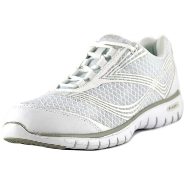 Propet Travellite Women 2A Round Toe Synthetic White Running Shoe