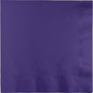 """Club Pack of 250 Purple Premium 3-Ply Disposable Dinner Party Napkins 8.75"""""""