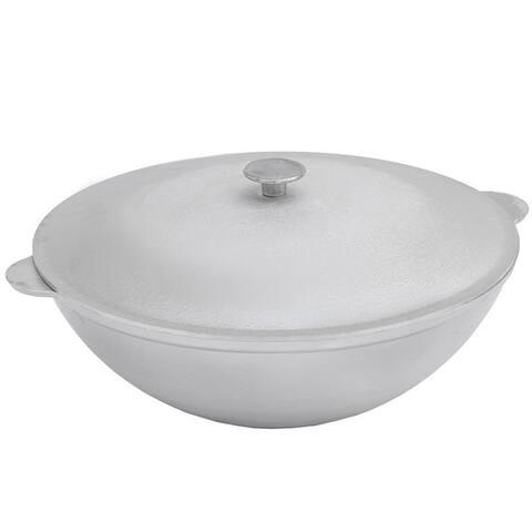 BIOL - 4.2-Quart Aluminium Large Cooking Kazan, Kettle for Jambalaya, Pilaf