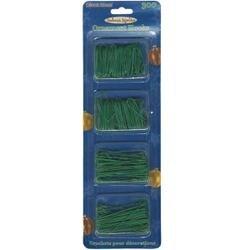 Green - Ornament Hooks 300/Pkg