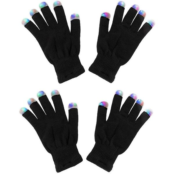 Light Gloves LED Strobe Fingertips Shows Concerts for Men Women & Kids. Opens flyout.