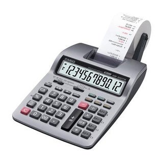 Casio - Hr100tm - 12 Digit Printing Desktop Calc