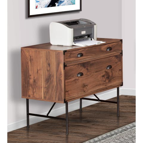 """Brunei 30.5"""" 2-Drawer Lateral Filing Cabinet"""