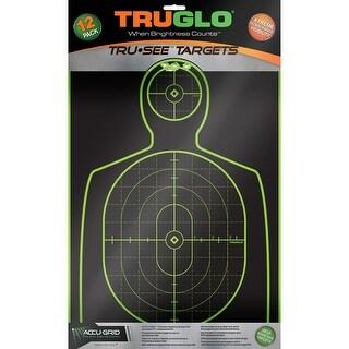 Truglo tg13a12 truglo tg13a12 target handgun 12x18 12pk