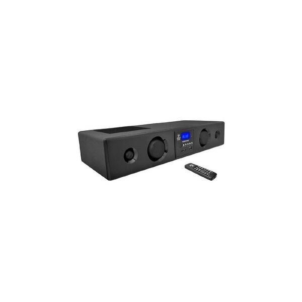 Pyle Audio PYRPSBV200BTb Pyle PSBV200BT 300 Watt Bluetooth Soundbar with USB/SD/FM Radio and Wireles