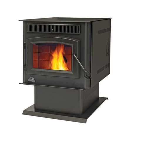 Napoleon TPS35 8,000 - 43,000 BTU Pellet Stove with 45 Lb. Hopper - Painted Black