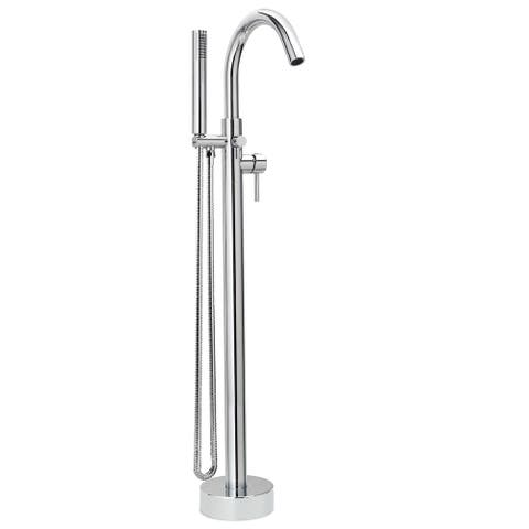 Keeney DEL45 Single Handle Floor Mounted Freestanding Tub Filler