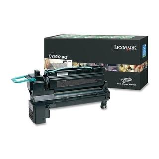 Lexmark C792X1KG Lexmark C792X1KG Extra High Yield Return Program Toner Cartridge - Black - Laser - 1 / Each - OEM