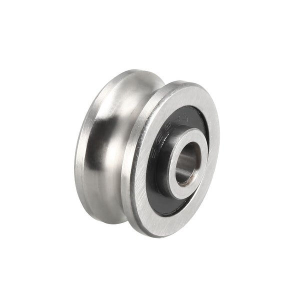 SG20 U-Groove Track Guide Bearing 6x24x11mm Pulley Bearings for Textile Machine