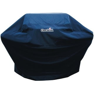 "Char-Broil 3718519 Polyester Grill Cover, 72"", Black"