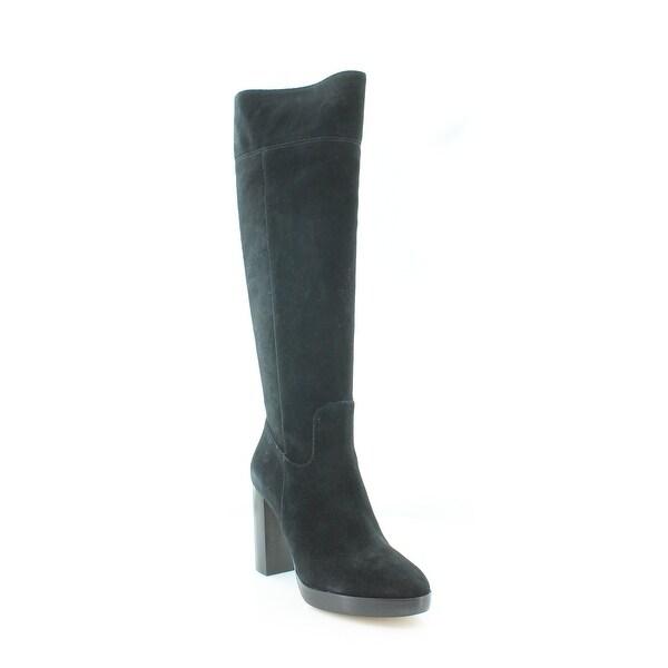 Michael Kors Regina Platform Boots Women's Boots Black