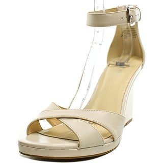 Nine West Medano Open Toe Synthetic Wedge Heel