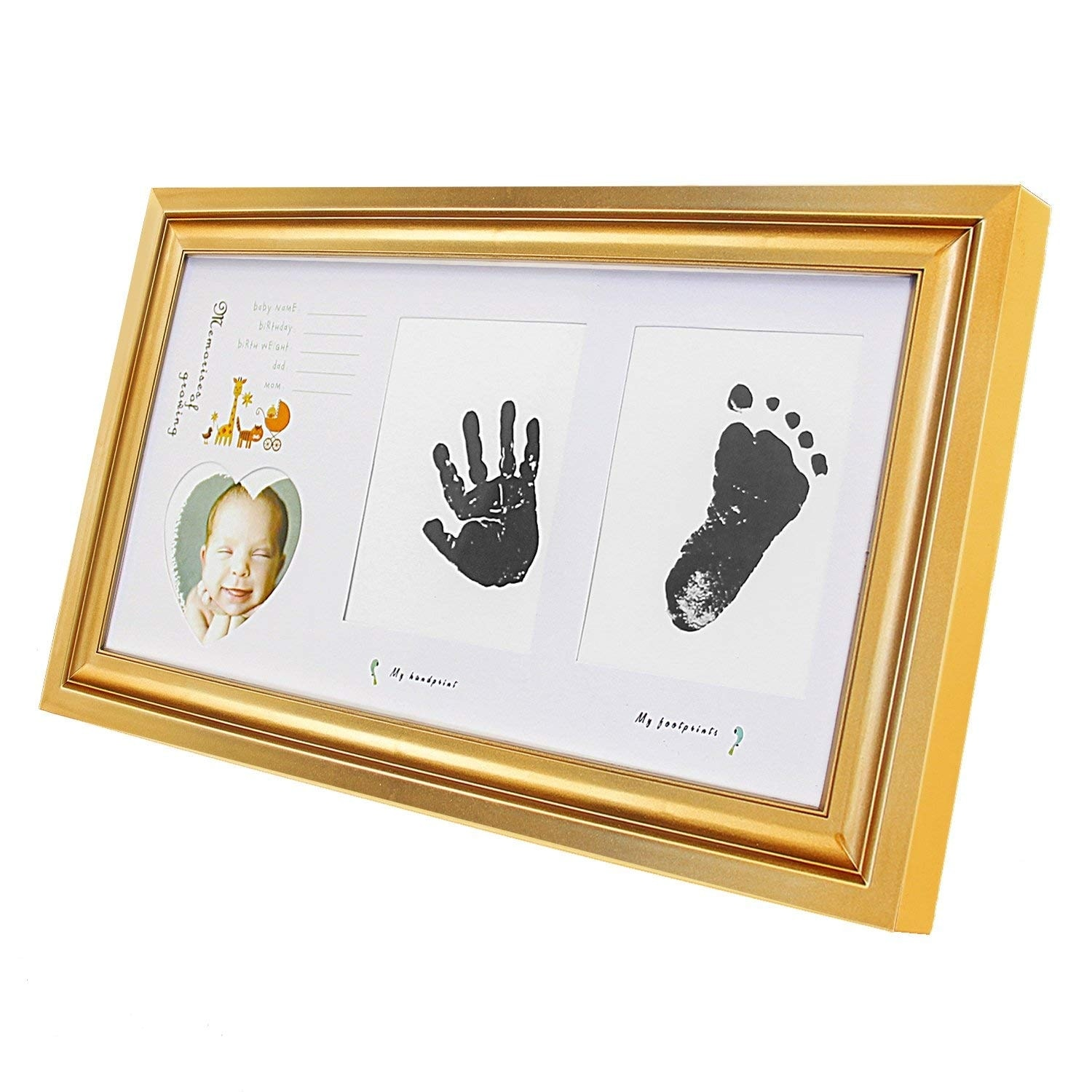 Hello Laura Golden Decorative Family Collage Wall Hanging Photo Frame Overstock 24124076