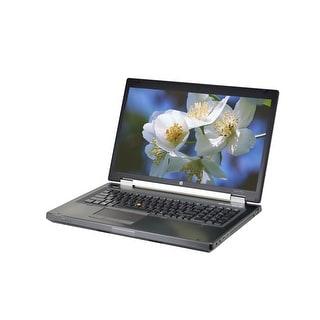 "HP EliteBook 8770W Core i7-3520M 2.9GHz 8GB RAM 500GB HDD DVD-RW Win 10 Pro 17.3"" Mobile Workstation (Refurbished B Grade)"