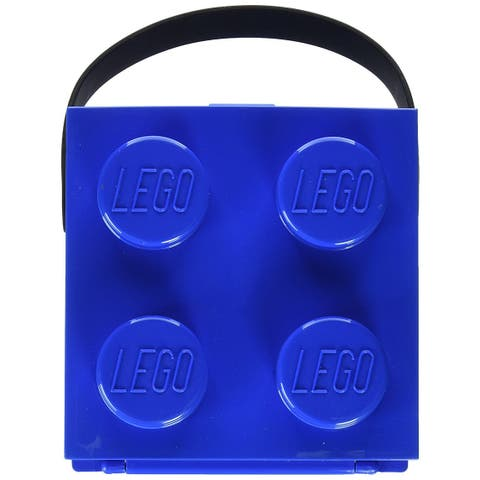 LEGO Lunchbox With Handle, Bright Blue - Multi