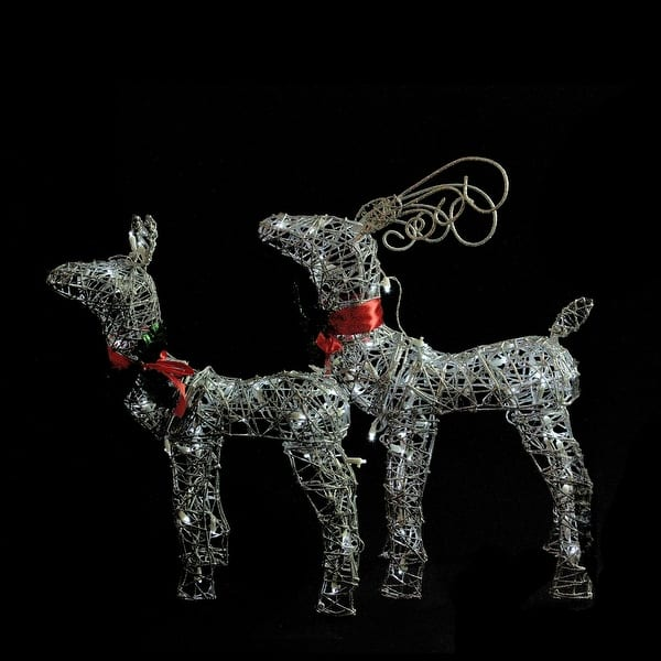 Outdoor Christmas Reindeer Decorations Lighted  from ak1.ostkcdn.com