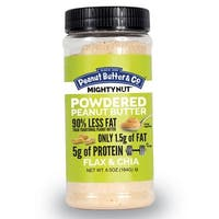Peanut Butter and Co Mighty Nut Powdered - Flax and Chia - Case of 6 - 6.5 oz.