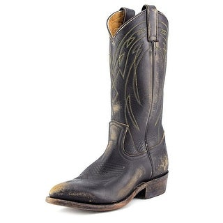 Frye Billy Pull On Women  Pointed Toe Leather Black Western Boot