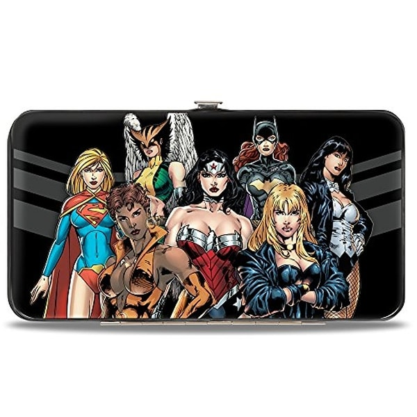 Buckle-Down Hinge Wallet - Justice League
