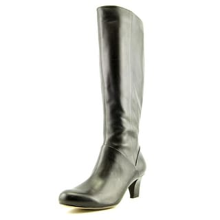 Trotters Posh Too Women Round Toe Leather Knee High Boot