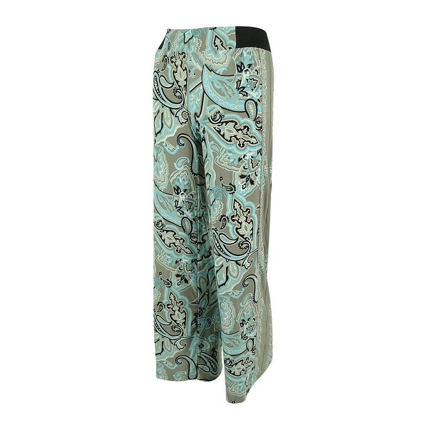 765e181d99a Shop INC International Concepts Women s Paisley Print Jersey Pants - Multi  - PXS - Free Shipping On Orders Over  45 - Overstock.com - 14729805