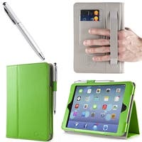 i-BLASON-Apple New iPad Mini with Retina Display Smart Cover Leather Case-Green