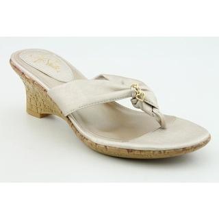 Life Stride Calypso Women Open Toe Synthetic Wedge Sandal