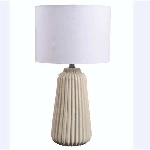 """Kainak 26.5"""" 3-Way CeramicTable Lamp"""