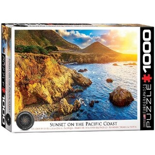 Sunset On The Pacific 1000 Piece Puzzle