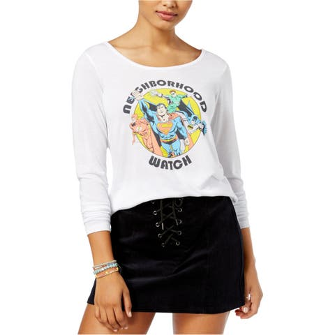 Justice League Womens Neighborhood Watch Graphic T-Shirt