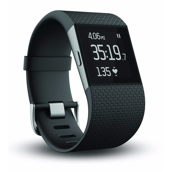 Fitbit Surge GPS Activity Tracking Watch (Large/Black)