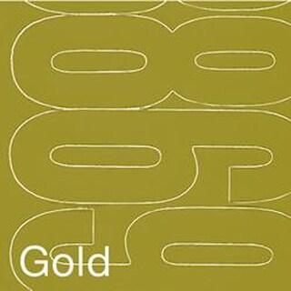 "Permanent Adhesive Vinyl Numbers 4"" 49/Pkg-Gold"