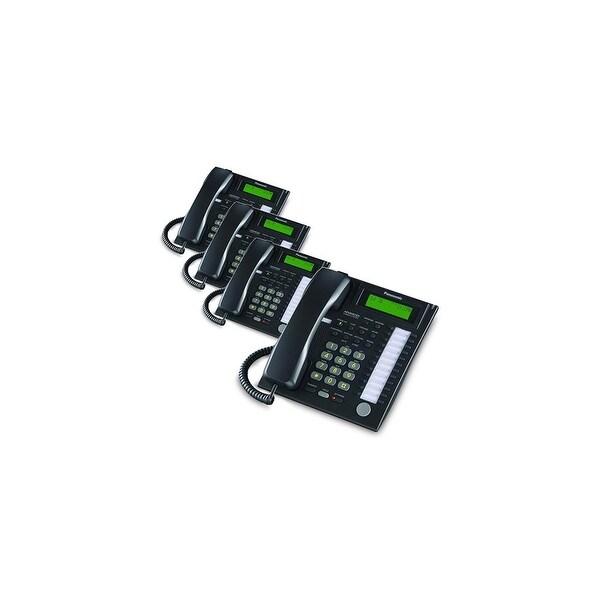 Panasonic-KX-T7736B (4 Pack) Speakerphone Telephone With LCD