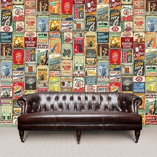 Link to Walplus Party Metal Signs Collage Mural Wall Sticker Decal Home Decor Similar Items in Vinyl Wall Art