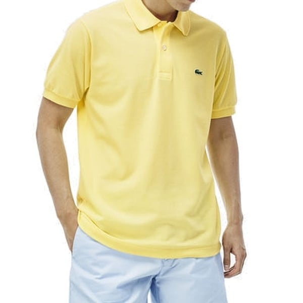 9e2899d1e Lacoste NEW Yellow Men  x27 s Size 3XL Pique-Knit Crocodile Polo Shirt
