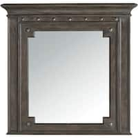 """Hooker Furniture 5700-90007 42"""" x 40-1/2"""" Rectangular Framed Mirror from the Vintage West Collection"""