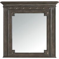"Hooker Furniture 5700-90007 42"" x 40-1/2"" Rectangular Framed Mirror from the Vintage West Collection"