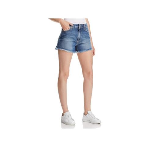 Joe's Jeans Womens Denim Shorts High-Waist Cut-Off
