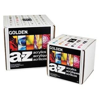 Golden A-Z Acrylic Set - A-Z Acrylic Starter Set