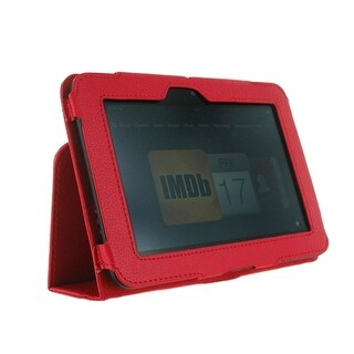 """Unlimited Cellular Leather Flip Book Case/Folio for Kindle Fire HD 7"""" (2012 Vers"""
