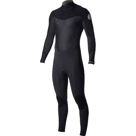 Rip Curl Dawn Patrol Back Zip Wetsuit, Black, Medium/Short
