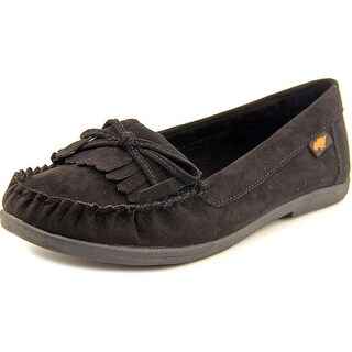 Rocket Dog Juno Coast Women Synthetic Black Moccasins