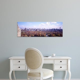 Easy Art Prints Panoramic Images's 'Central Park, NYC, New York City, New York State, USA' Premium Canvas Art